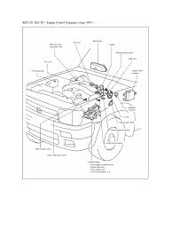 1kz ecu wiring diagram with schematic