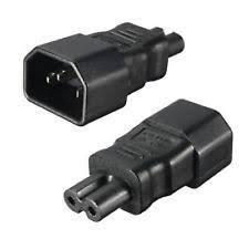 iec female connector ebay Iec Plug Wiring Diagram power adaptor connector iec c14 male plug to iec c7 female socket (figure of 8 IEC C14 Connector Pinout