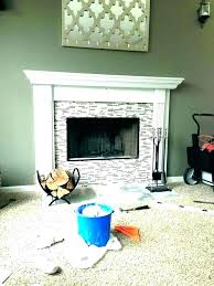 electric fireplace frame build a surround diy insert install