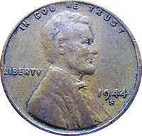 1944 D Wheat Penny Value Cointrackers