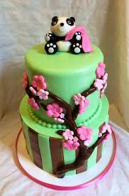 Baby Panda Pink Diaper Cake  000  Diaper Cakes Mall Unique Panda Baby Shower Theme