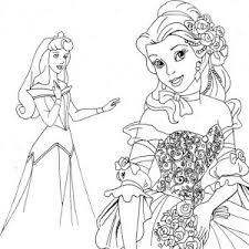Small Picture All Disney Princess Coloring Pages Large Images