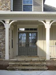 Remarkable Double Front Door With Transom Pictures Exterior ideas