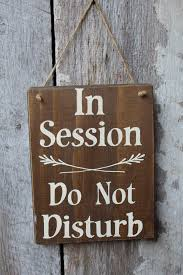 doctor office decor. In Session Do Not Disturb Wood Sign Hanging Therapy Room Rustic Decor Doctor Office