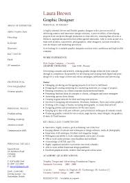 Graphic Design Resume Qualifications Sidemcicek Com