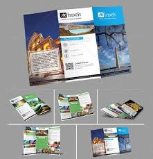 Tri Fold Travel Brochure Examples Schedule