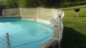 the banned how to install an inexpensive fence around your above ground pool usa you