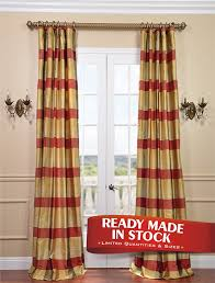 dynasty silk taffeta plaid curtain get up to off at half ds using and promo codes