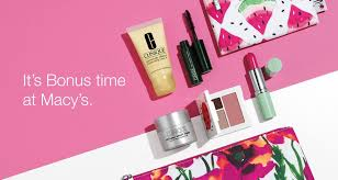 clinique on twitter it s bonustime at macys this time there s 2 bags get this 7 piece gift free with any 27 clinique purchase