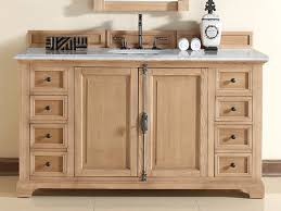 60 inch bathroom vanity natural oak finish white marble top