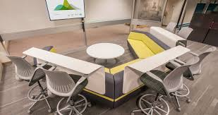 Corporate office interiors Pinterest Lazboy Pilot Project Corporate Headquarters Nbs Commercial Interiors Gff Lazboy Pilot Project Corporate Headquarters Nbs Commercial