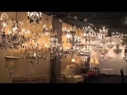 schonbek crystal chandelier showroom