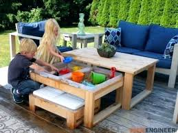 outdoor table kids and chairs garden furniture kidkraft lounge chair fur