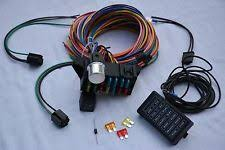 street rod wiring harness 14 circuit wire harness fuse box street hot rod wiring car truck 12v gm coded