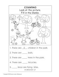 english worksheets for kindergarten 1