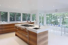 Centre Island House Contemporary White Kitchen For Center Designs Kitchens  Plan 11
