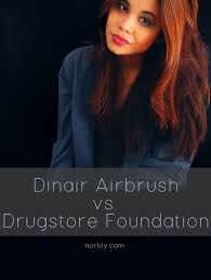 thinking about trying an airbrush makeup system this is my full review of my dinair