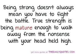 Quotes On Being Strong Beauteous Quotes About Being Strong In Life Trevormcpherson
