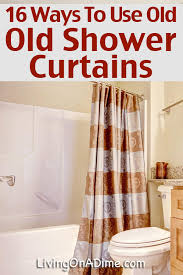 ways to recycle plastic shower curtains