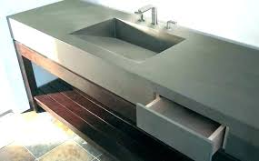 concrete sink molds how to make a for kitchen s diy vanity by lifestyle concre sink how to make a concrete