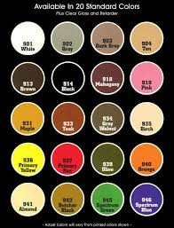 Seamfil Color Chart Wilsonart Kampel Seamfil Fessenden Hall Inc