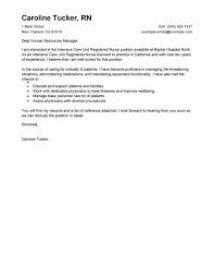 Nurse Educator Resume Examples Nursing Cover Letter Format Unique 20 Rn New Grad Nurse Educator