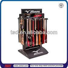 Baseball Bat Display Stand Fascinating TSDM32 Custom Free Standing Metal Sports Equipment And Baseball