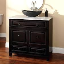 36 inch vanity with sink executive modern bathroom vanity with vessel sink in brilliant home decor