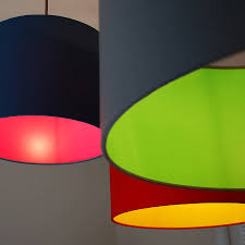 image of extra large drum lamp shade colors