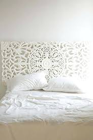 ways to make a headboard out of almost anything via co white wood full wooden size full size of wonderful distressed white headboard bedroom decor wood