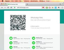 Computers With Whatsapp - Chat India Web For Using Opera