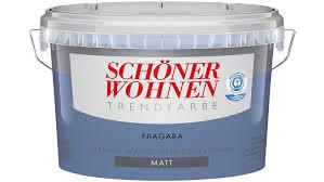 Schöner Wohnen Trendfarben-niagara matt 2,5 l: Amazon.de: Baumarkt