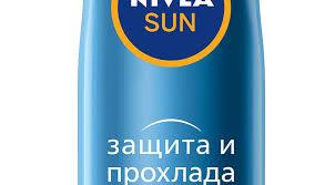 """Сухой <b>солнцезащитный спрей</b> """"Защита и Легкость"""" SPF 50 - NIVEA"""