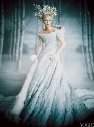 Wedding Inspiration Ombre Wedding Dress