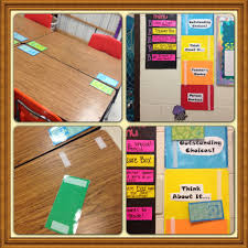 another problem that can occur when you teach two classes is how to manage behavior easily and effectively and what to do with desk name tags