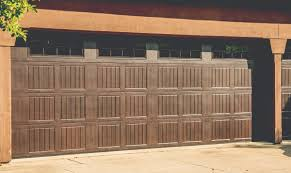 walnut garage doorsClassic Steel Garage Door Design  BayToBay Garage Doors