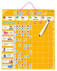 Fiesta Crafts Star Chart Large Magnetic Star Reward Chart Fiesta Crafts For My Kids