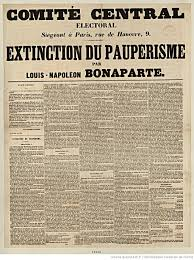 the twitter bonaparte casts a shadow two articles on bonapartism louis napoleon s essay the extinction of pauperism advocating reforms to help the working class was widely circulated during the 1848 election campaign