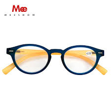 Meeshow Retro Reading Glasses Women With Diopter Retro 2 25