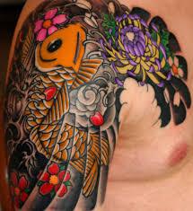 изучаем японские татуировки