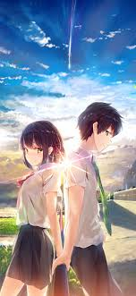 We determined that these pictures can also depict a kimi no na wa. Your Name Anime Aesthetic Wallpapers Wallpaper Cave