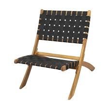 Furniture Wooden Kmart Lawn Chairs With Woven Seat For Outdoor
