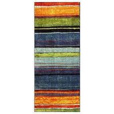 rainbow multi 2 ft x 5 ft indoor runner rug