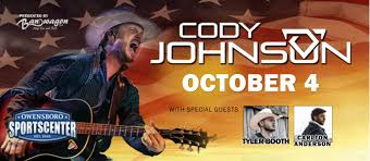 Owensboro Sportscenter Seating Chart Cody Johnson In Concert With Special Guests Visit