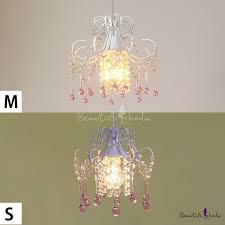 country mini crystal pendant light dining room bathroom crystal light with pink