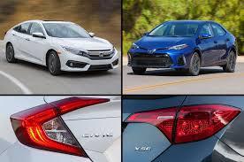 Car Compare 2017 Honda Civic Vs 2017 Toyota Corolla