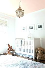 shocking pink chandeliers for baby rooms