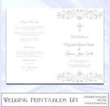 Wedding Booklet Template Wedding Booklet Template Free Onedaystartsnow Co