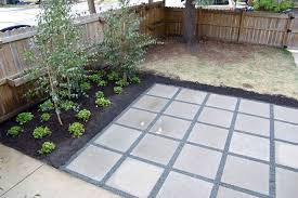 Paving Ideas For Backyards Painting Interesting Decoration