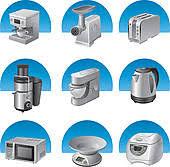 kitchen appliances clipart. Beautiful Appliances Kitchen Appliances Icon Set And Kitchen Appliances Clipart